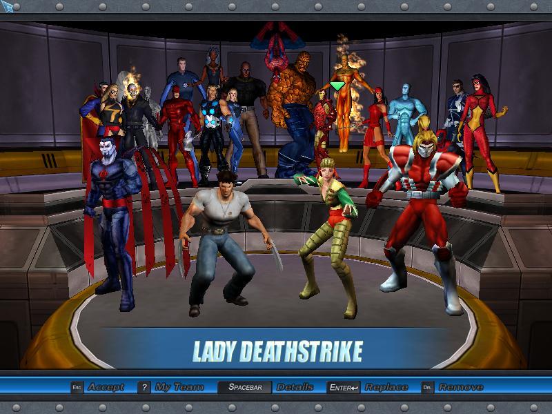Marvel ultimate alliance моды персонажей скачать